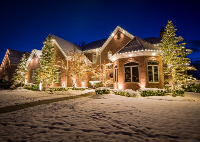 Residential Lighting Display