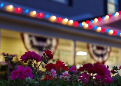 Commercial Fourth of July Lighting Display