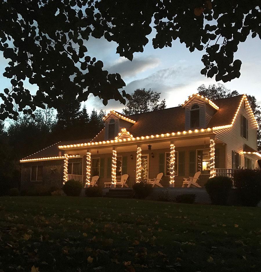 Home Holiday Lighting Installation New Hampshire
