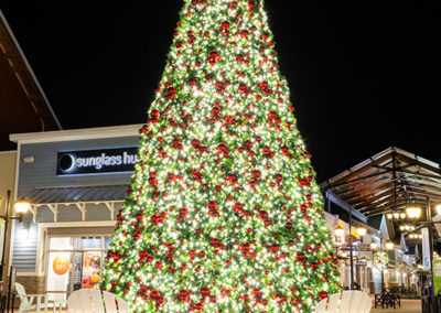Commercial Christmas Lighting Display - Merrimack Premium Outlets - Merrimack, NH