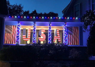 Fourth of July Lighting