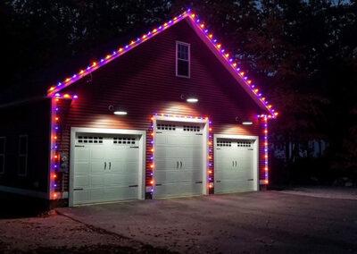 Halloween Lighting Display