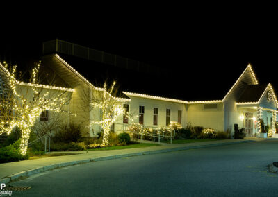 Commercial Christmas Lighting Display - Derryfield