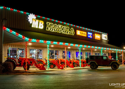 Commercial Christmas Lighting Display - MB Tractor & Equipment